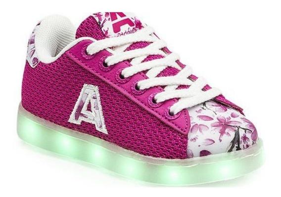 Zapatillas Addnice Led Usb Flores Luces Recargables Vs Color