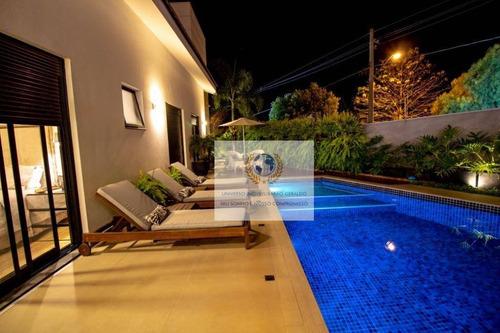 Casa Com 4 Dormitórios À Venda, 320 M² Por R$ 2.900.000,00 - Chácara Santa Margarida - Campinas/sp - Ca0824