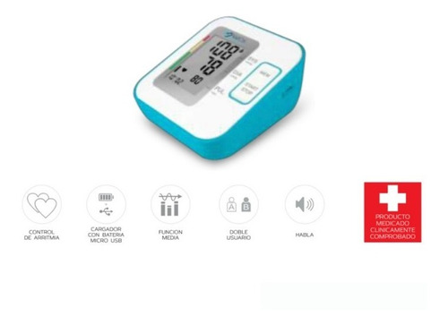 Tensiometro Digital De Brazo Valcri Con Invima