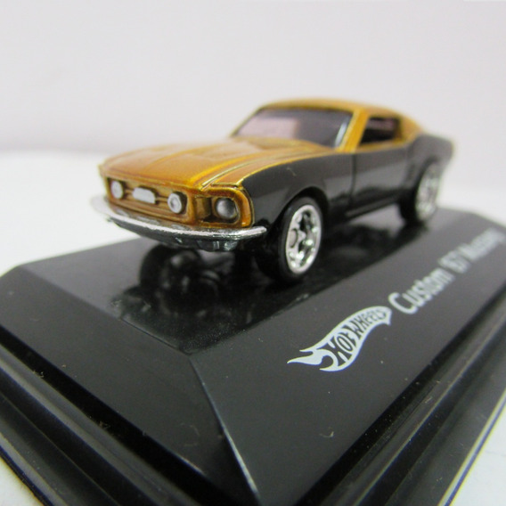 Escala Ho Hot Wheels Custom 67 Mustang No Blister Jorgetrens