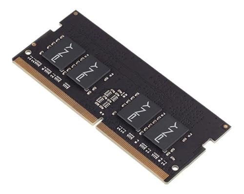 Imagen 1 de 4 de Memoria Ram Notebook Pny Sodimm Ddr4 16gb 2666mhz 1.2v Cl19
