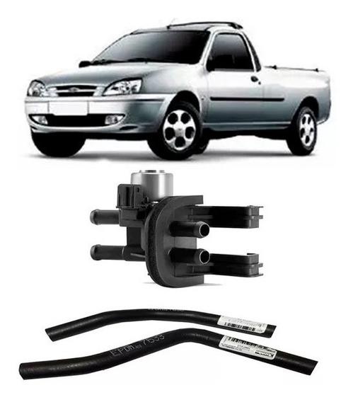 Válvula Mangueira Ar Quente Ford Fiesta Ká Courier Ecosport