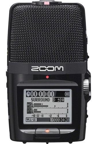 Gravador Portátil Zoom H2n 5 Mic Integrados 12x S/juros