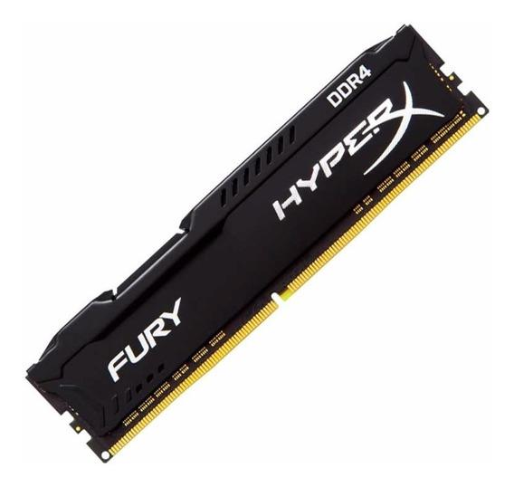 Memoria Ram Kingston Hyper X Fury 8gb Ddr4 Pc 2400 Mhz