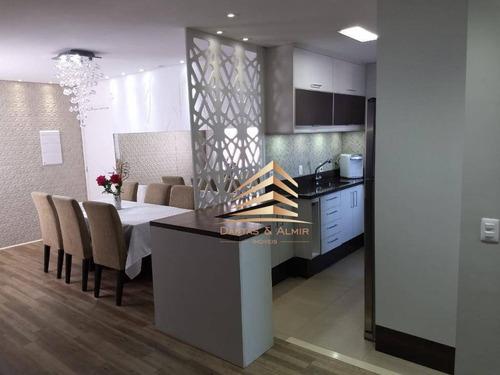 Cobertura Na Vila Augusta -  Fatto Quality -126m² - 3 Dormitórios, 1 Suíte, 2 Vagas. - Co0016