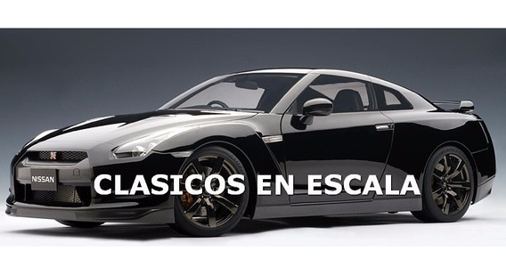 Nissan Gt-r (r35) Premium Edition Autoart Escala 1/12