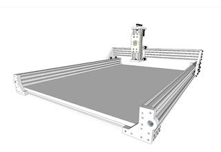 Placa Montagem Cnc - Mdf (modelo Sfhinx) Openbuilds