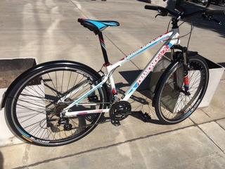 Bicicleta Diamond Back Trace City R28 Talle S Blanco Thuway