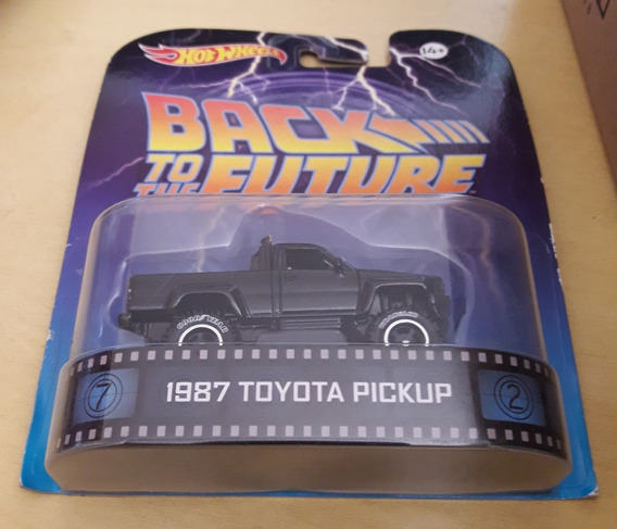 Miniatura 1/64 Toyota 1987 Pickup - De Volta Para O Futuro