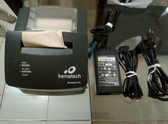 Impressora Fiscal Bematech Mp2100 Com Defeito - Leia O Anúnc