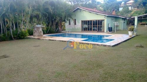 Chácara Residencial À Venda, Residencial Rosas Do Sul, Itatiba - Sp - Ch0109