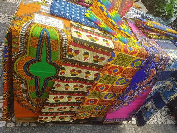 Tecidos Africana Algodao 6 Metros Por 169.99