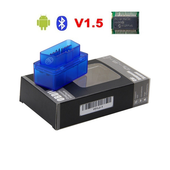 Super Mini Elm327 V1.5 Scanner Bluetooth Elm 327 Pic18f25k80
