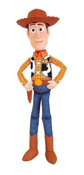 Boneco Xerife Woody Toy Story 4 Colecionável 35cm