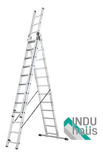 Escalera Aluminio Tijera-telescopica-arrimo 7,95 M/ Dec-haus