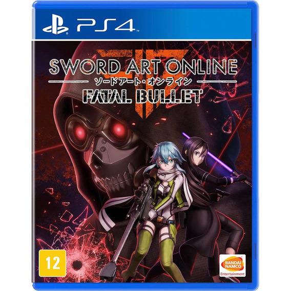 Sword Art Online Fatal Bullet Ps4 Midia Fisica Game Lacrado