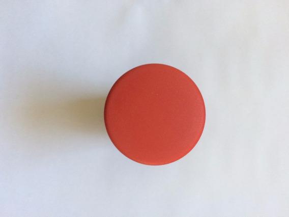 Botao Cogumelo 22mm Vermelho 2nf Sem Trava