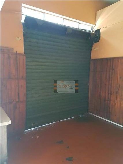 Salão Para Alugar, 60 M² Por R$ 1.600/mês - Pirituba - São Paulo/sp - Sl0076