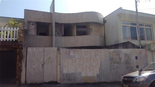 Imagem 1 de 1 de Casa À Venda, 3 Quartos, 1 Suíte, 3 Vagas, Bela Vista - Santo André/sp - 45295