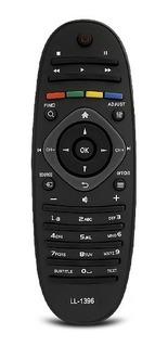 Control Remoto Ovalado Para Philips Led Tv Lcd Smart