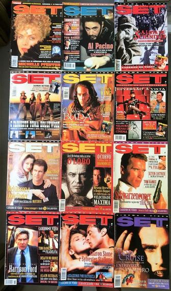 Revista Set 1994 Ano Completo (12 Edições) Perfeito Estado