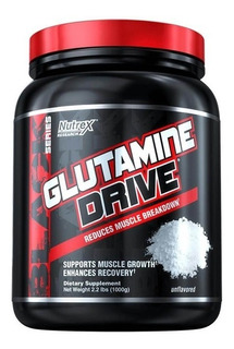 Glutamine Drive 1kg Glutamina 5000mg Nutrex Full