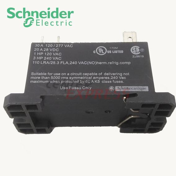 Relé Schneider Rpf2ap7 - 30a - Bobina 220v