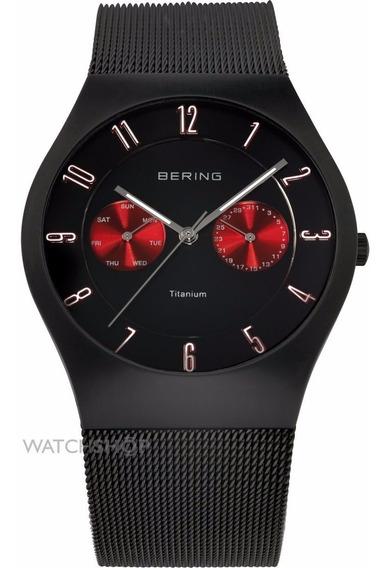 Relógio Bering Super Slim Titanium 11939-229