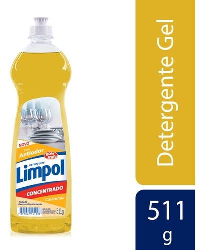 Imagem 1 de 1 de Detergente Limpol Gel Calendula 511g