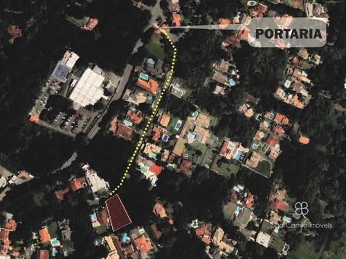 Imagem 1 de 6 de Terreno À Venda, 1403 M² Por R$ 550.000,00 - Granja Viana - Cotia/sp - Te0495