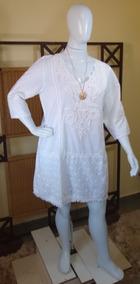 Saída De Praia /bata /túnica Moda Indiana/100% Algodão. C309