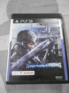 Cambio Vendo Metal Gear Rising Revengeance Metalgearrising