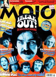 Captain Beefheart Grateful Dead Revista Mojo Inglaterra 1999