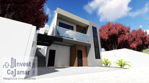 Casa Moderna, Fino Acabamento, Obras Já Em Andamento