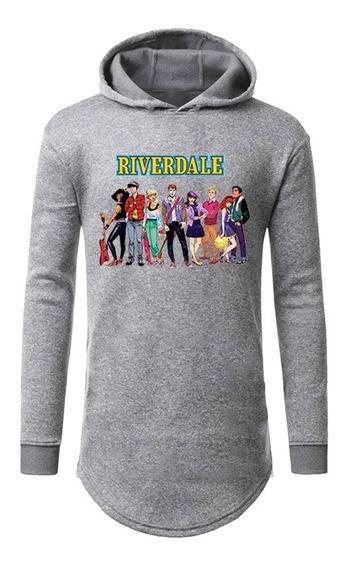 Blusa Moletom Longline Serie Riverdale Promoção
