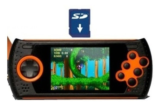 Cartão Sd Para Mega Drive Portátil 1400 Patchs - Md Play