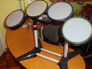 Juego Baterías Rock Band Digitales- Harmonix-para X- Box 360