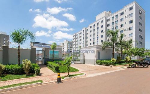 Apartamento Com 2 Dormitórios À Venda, 46 M² Por R$ 198.000 - Spazio La Fontaine - Vale Dos Tucanos - Londrina/pr - Ap0359