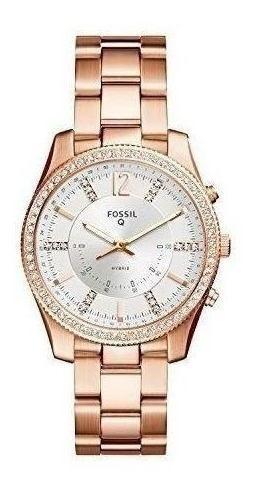 Reloj Inteligente Híbrido Fossil - Q Acero Inoxidable Scarle