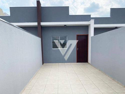 Imagem 1 de 8 de Casa Com 2 Dormitórios À Venda, 85 M² Por R$ 229.000,00 - Jardim Turmalina - Sorocaba/sp - Ca1467