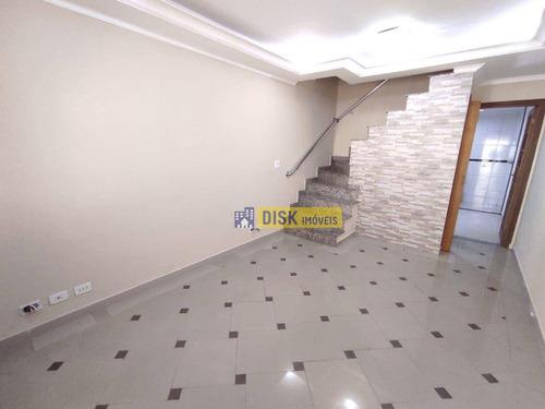 Imagem 1 de 20 de Sobrado Com 3 Dormitórios, 151 M² - Venda Por R$ 530.000,00 Ou Aluguel Por R$ 3.300,00/mês - Santa Terezinha - São Bernardo Do Campo/sp - So0759