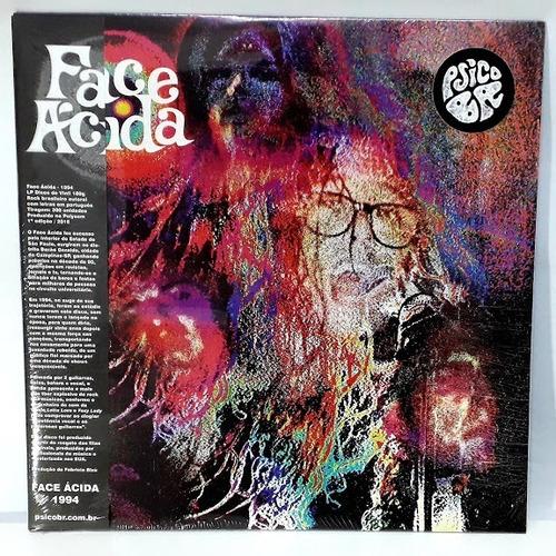 Lp Face Ácida Deep Purple Rock Vinil Promoção Psicobr