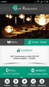 Sistema De Entrega De Comida Para Restaurante Mobile.android