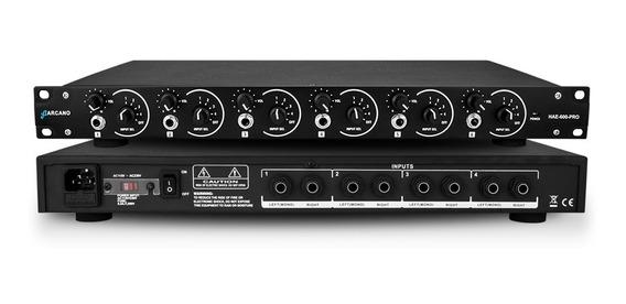 Arcano Amplificador De Fones Hae-600-pro Para 6 Fones