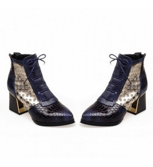 Ankle Boot Feminina Wetkiss 60818 Importado