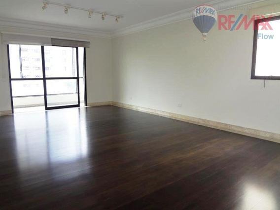 Apartamento 210 M², 3 Suítes, 4 Vagas, Moema - Ap4582