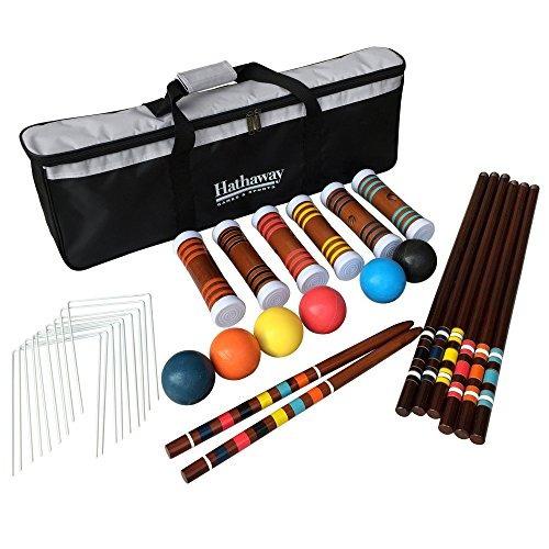 Hathaway 6 Jugadores Croquet Set
