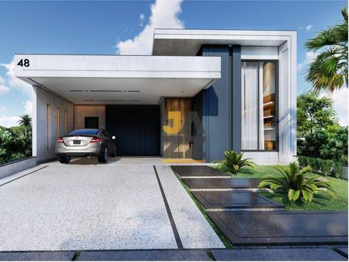 Imagem 1 de 11 de Casa Com 3 Dormitórios À Venda, 198 M² Por R$ 1.150.000,00 - Condomínio Piemonte - Indaiatuba/sp - Ca12706