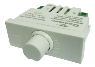 Modulo Regulador Lumínico Apto Led A Perilla Cambre 8838