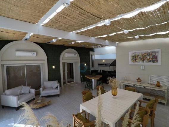 Suntuosa Cobertura Duplex Na Chácara Flora De 511 M², 3 Suítes, 5 Vagas - Co0069